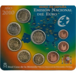 Cartera de 8 Valores de España del 2010