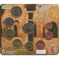 Cartera de 8 Valores de España del 2010 ( Emisión Especial)