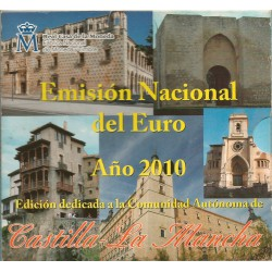 Cartera de 8 Valores de España del 2010 de Castilla-La Mancha