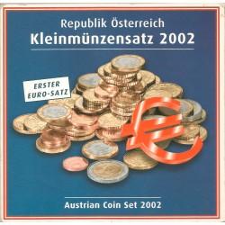 Cartera de 8 Valores de Austria del 2002