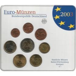 Cartera de 8 Valores de Alemania del 2003