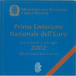 Cartera de 8 Valores de Italia del 2002