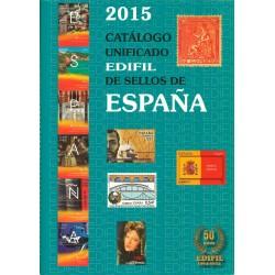Catálogo Unificado Edifil de Sellos de España del 2015