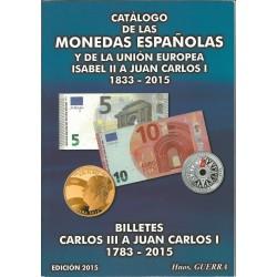 Catálogo de  Monedas y Billetes Españoles