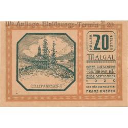 20 Peniques de 1920