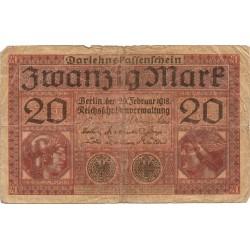 20 Marcos de 1918