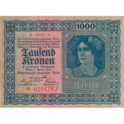 1000 Coronas de 1922
