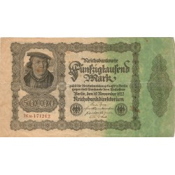 50000 Marcos de 1922