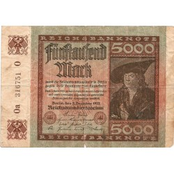 5000 Marcos de 1922