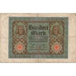 100 Marcos de 1920
