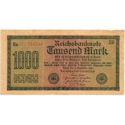 1000 Marcos de 1922