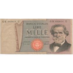1000 Liras de 1969