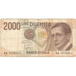 2000 Liras de 1990