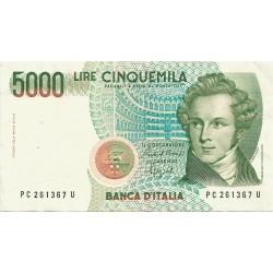 5000 Liras de 1985