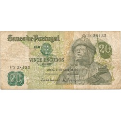 20 Escudos de 1971