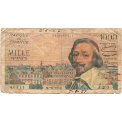 1000 Francos de 1955