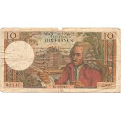 10 Francos de 1972
