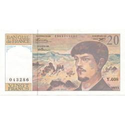 20 Francos de 1993