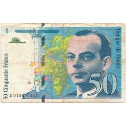 50 Francos de 1994