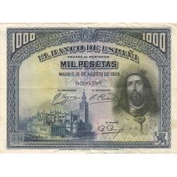 1000 Pesetas del 15 de Agosto de 1928