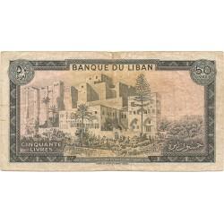 50 Libras Libanesas