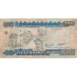 50 Naira de 1991