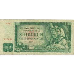 100 Coronas de 1961