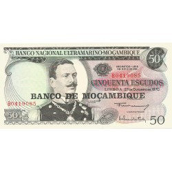 50 Escudos de 1970