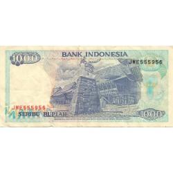 1000 Rupias de 1992