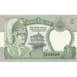 2 Rupias de 1981